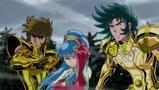 聖闘士星矢 -黄金魂 soul of gold- 第5話 究極! 神聖衣の力